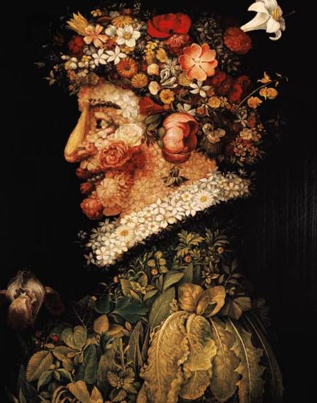 La primavera - Giuseppe Arcimboldo