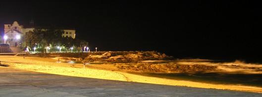 Riazor de noche. A Coruña. Foto de Laura González